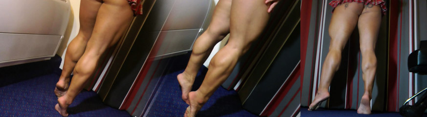anna m strong musclegoddess with big calf muscles amazing legs